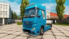 La piel de la Paloma para tractor Mercedes-Benz