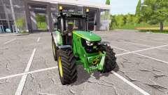 John Deere 6155M v1.0.6 para Farming Simulator 2017