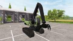 Recogedores de retroexcavadora para Farming Simulator 2017
