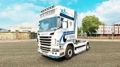Hovotrans de la piel para el camión Scania para Euro Truck Simulator 2