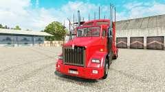 Kenworth T800 v2.0 para Euro Truck Simulator 2