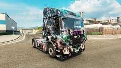 La piel Villanos de DC en el camión Iveco