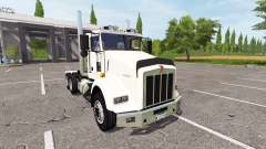 Kenworth T800 dual axle