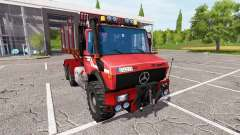 Mercedes-Benz Unimog wood