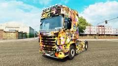 El Graffiti de la piel para Scania camión para Euro Truck Simulator 2