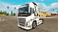 Paul Walker piel para camiones Volvo
