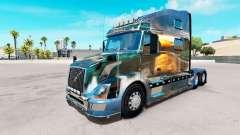 La naturaleza de la piel para camiones Volvo VNL