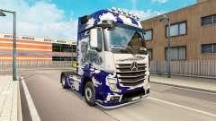 La piel Biomechaniks para tractor Mercedes-Benz