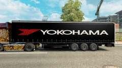 La piel de Yokohama semi-remolque