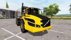 Volvo A40G forwarder para Farming Simulator 2017
