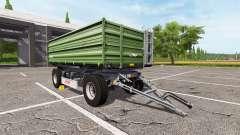 Fliegl DK 140-88 ciemna para Farming Simulator 2017
