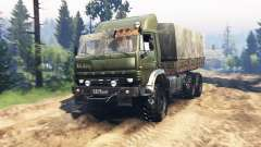 KamAZ 63501 v2.0 para Spin Tires
