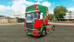 La piel de la locomotora v2.0 camión Scania