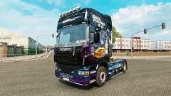 La piel Fast & Furious para Scania camión