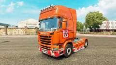 LUKOIL piel para Scania camión
