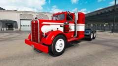 La piel Gavins Registro en el tractor Kenworth 5