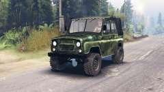 UAZ-469 HD para Spin Tires