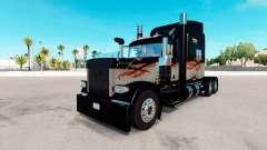 La piel de Larga Distancia para el camión Peterb
