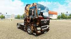 La piel de Tigre en el camión MAN