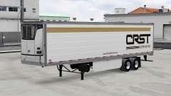 Real logotipos de la compañía para remolques v2.0.1 para American Truck Simulator