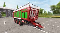 JOSKIN DRAKKAR 8600 red-green edition para Farming Simulator 2017