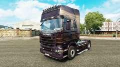 La piel de Viking para camión Scania para Euro Truck Simulator 2