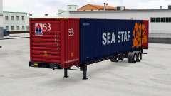 Una colección de trailers de v1.3 para American Truck Simulator