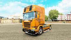 Camaro de la piel para Scania camión
