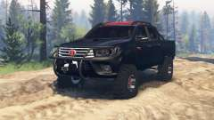 Toyota Hilux Double Cab 2016 v2.0 para Spin Tires