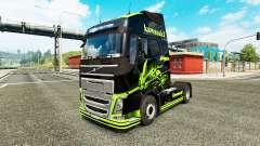 La piel de la Kawasaki Ninja para camiones Volvo