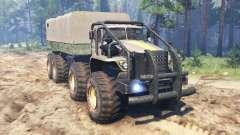 Ural 6614 para Spin Tires