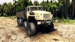 Ural-6614 v2.0 para Spin Tires