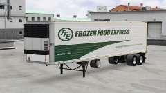 Piel de Madera Congelada Express en el trailer