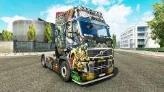 La piel de los Monstruos de Ataque en Volvo truc