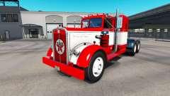 La piel en el camión Texaco Kenworth 521