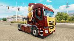 La piel de Iron Man en el tractor Iveco