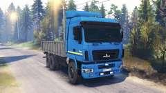 MAZ-6312 v2.0 para Spin Tires
