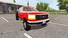 Ford F-350 1996 hauler para Farming Simulator 2017