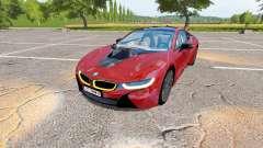 BMW i8 (I12) v1.1 para Farming Simulator 2017