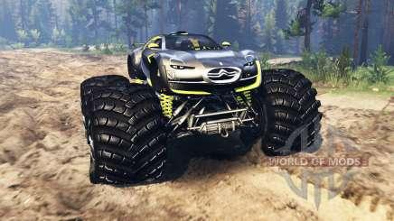 Citroen Survolt Concept 2010 para Spin Tires