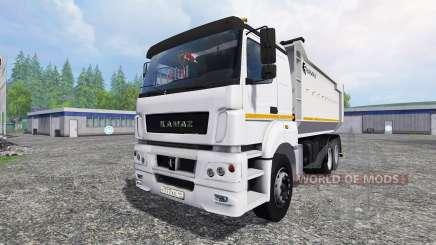 KamAZ-6580 v1.2 para Farming Simulator 2015