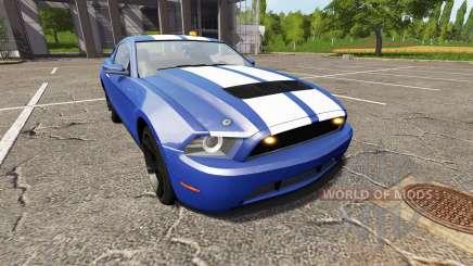 Ford Mustang GT road rage light addon para Farming Simulator 2017