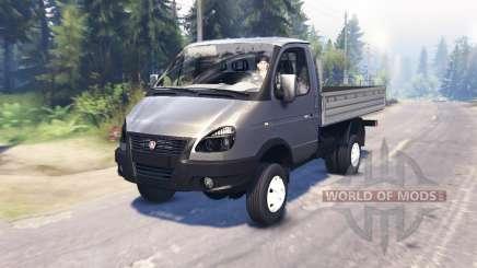 GAZ-33027 Gacela-Negocio para Spin Tires
