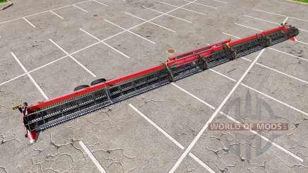 New Holland SuperFlex Draper 45FT huge para Farming Simulator 2017