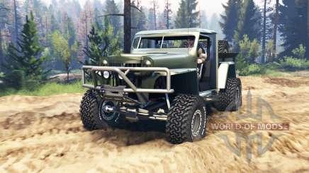 Willys Pickup Crawler 1960 v1.3.2 para Spin Tires