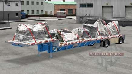 Baja barrido de Wilson con bienes para American Truck Simulator