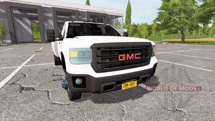 GMC Sierra 3500HD dually para Farming Simulator 2017