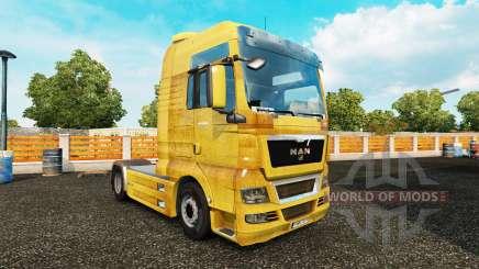 La piel de la Suciedad en el camión MAN para Euro Truck Simulator 2