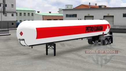 El semirremolque tanque de v1.5 para American Truck Simulator