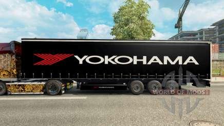 La piel de Yokohama semi-remolque para Euro Truck Simulator 2